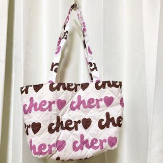 シェル(Cher)のお値下げ♪ cher❤️キルティング トートバッグ(トートバッグ)