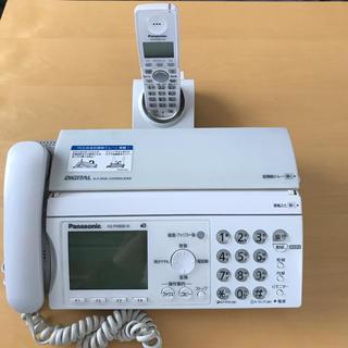 パナソニック(Panasonic)のパナソニック 電話機 FAX(電話台/ファックス台)