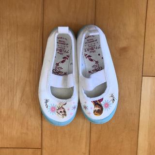 ディズニー(Disney)の上靴 アナと雪の女王(スクールシューズ/上履き)