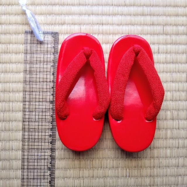 (送料込)女の子☆下駄☆15cmくらい☆七五三などに☆ キッズ/ベビー/マタニティのキッズ靴/シューズ (15cm~)(下駄/草履)の商品写真