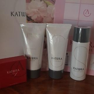 カツウラケショウヒン(KATWRA(カツウラ化粧品))のカツウラ  基礎化粧品セット ミニサイズ 未開封 新品未使用(サンプル/トライアルキット)