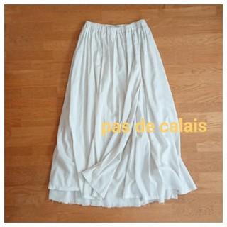 パドカレ(pas de calais)のパドカレ ロングギャザースカート(ロングスカート)