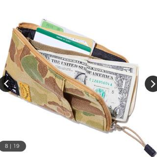 ネイタルデザイン(NATAL DESIGN)のネイタルデザイン ハーフトラックプロダクツ BANK 財布 カモフラ(長財布)