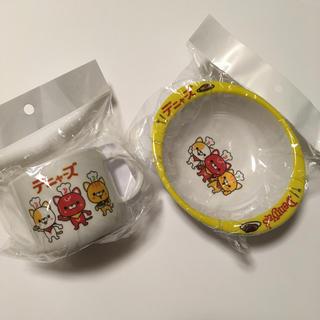 デニャーズ  コップとお皿(食器/哺乳ビン用洗剤)