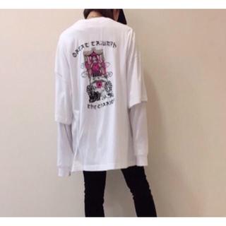 カウイジャミール(KAWI JAMELE)のKAWI JAMELE アンサンブルTシャツ(Tシャツ(半袖/袖なし))