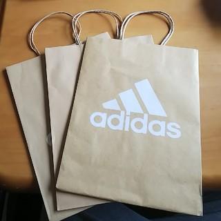 アディダス(adidas)のadidas アディダス SHOP袋 袋 紙袋 大きめ(ショップ袋)