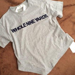 ミラオーウェン(Mila Owen)の新品未使用♡ヘム変化Tシャツ(Tシャツ(半袖/袖なし))