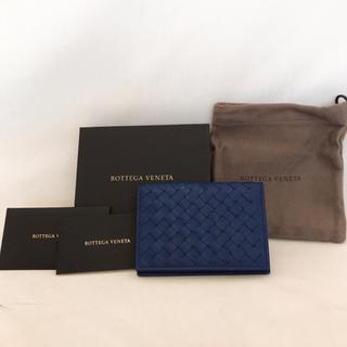 ボッテガヴェネタ(Bottega Veneta)のボッテガヴェネタ イントレチャート 名刺入れ カードケース(名刺入れ/定期入れ)