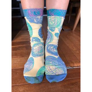 アッシュペーフランス(H.P.FRANCE)のおしゃれソックス juana de arco ホォアナデアルコ ホットヨガ 靴下(ソックス)