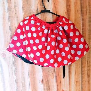 Disney - ミニーマウス 巻きスカート