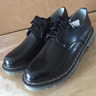 シマムラ(しまむら)のこめちゃん様専用☆しまむら購入☆おじ靴(ローファー/革靴)