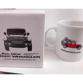 ジープ(Jeep)のJeep all new wrangler  マグカップジープ  ラングラー(ノベルティグッズ)