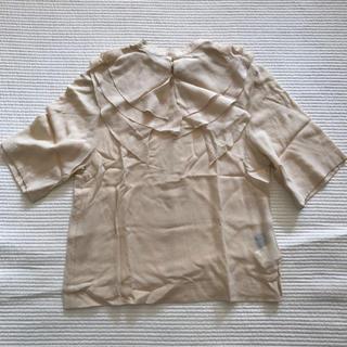 ジーヴィジーヴィ(G.V.G.V.)のG.V.G.V. つけ襟 シルク半袖ブラウス(シャツ/ブラウス(半袖/袖なし))