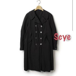 サイ(Scye)のScye サイ コート ブラック(チェスターコート)