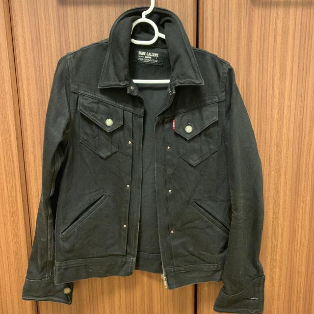 RUDE GALLERY(ルードギャラリー)のルードギャラリー デニムジャケット メンズのジャケット/アウター(Gジャン/デニムジャケット)の商品写真