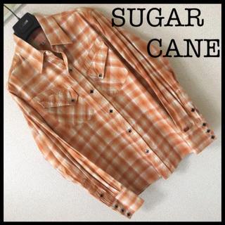 シュガーケーン(Sugar Cane)の◆良品◆シュガーケーン SUGAR CANE◆ラメチェック ウエスタンシャツ M(シャツ)