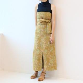 ノーブル(Noble)のノーブル 美品 ビスチェ セットアップ(ロングスカート)