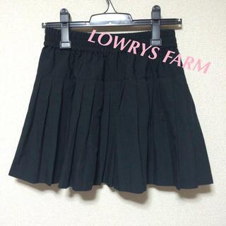 ローリーズファーム(LOWRYS FARM)のローリーズ♡プリーツスカート(ミニスカート)