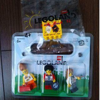 レゴ(Lego)のLEGOブロック ミニフィグ 3体 & 2018ハロウィンブロック(その他)