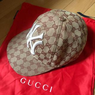グッチ(Gucci)のgucci×Yankees キャップ(キャップ)