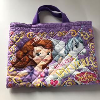 ディズニー(Disney)の新品 入園 入学 ソフィアセット(バッグ/レッスンバッグ)