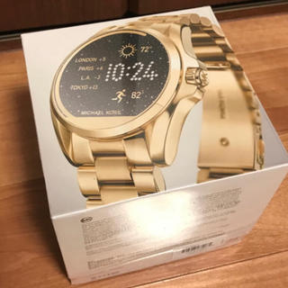 801ee1e56b90 マイケルコース(Michael Kors)のMICHAEL KORS スマートウォッチ(腕時計)