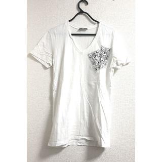 クリスヴァンアッシュ(KRIS VAN ASSCHE)のKRIS VAN ASSCHE クリスヴァッシュ Tシャツ カットソー 白(Tシャツ/カットソー(半袖/袖なし))