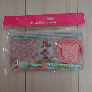 ディズニー(Disney)のディズニー ミニー 歯みがきセット(歯ブラシ/歯みがき用品)