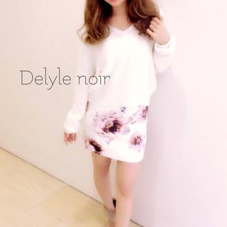Delyle NOIR - Delyle noir♡ビックフラワースカート