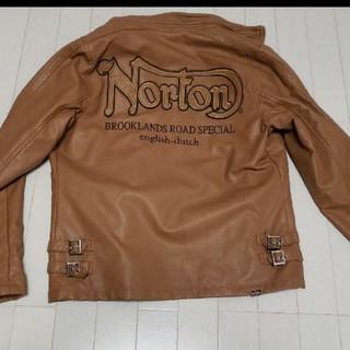 ノートン(Norton)のノートン 人工皮革 値下げしました!(レザージャケット)