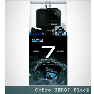 ゴープロ(GoPro)の最安 GoPro HERO7 Black 新品未使用 ゴープロ ヒーロー7(ビデオカメラ)