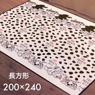 ディズニー(Disney)の【新品】101匹わんちゃん センターラグ(ラグ)
