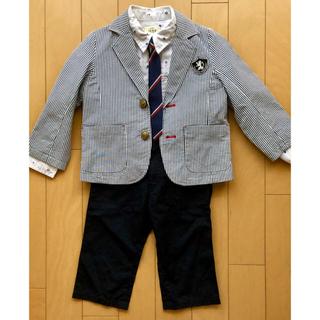 イッカ(ikka)の【美品!】入学式3点セット(男の子)110cm(ドレス/フォーマル)