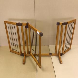 リッチェル(Richell)のリッチェル  ペット用  木製おくだけドア付きゲート(その他)
