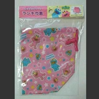 セサミストリート(SESAME STREET)の☆セサミストリート・ランチ巾着 お弁当袋☆(弁当用品)