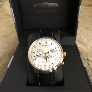 ツェッペリン(ZEPPELIN)の新品 ツェッペリン ビンデンブルク ムーンフェイズ アンティーク 革ベルト メン(腕時計(アナログ))