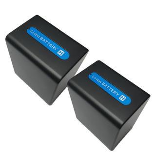 ソニー(SONY)のSONY ソニー NP-FV100互換バッテリー 2個セット(ビデオカメラ)