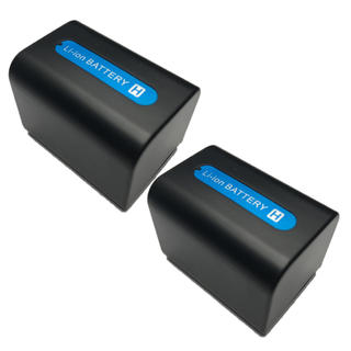 ソニー(SONY)のSONY ソニー そにー NP-FV70互換バッテリー 2個セット(ビデオカメラ)
