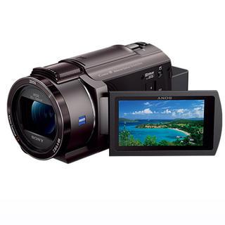 ソニー(SONY)のSONY ビデオカメラ FDR-AX45(ブラウン色)(ビデオカメラ)
