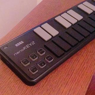 コルグ(KORG)のKORG nanoKEY2 MIDIキーボード 美品(MIDIコントローラー)