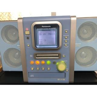 パナソニック(Panasonic)のパーソナルミニコンポ SC-PM35MD (リモコン付)(ポータブルプレーヤー)