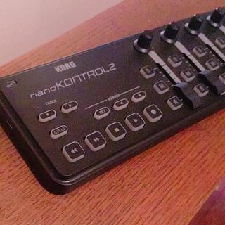 コルグ(KORG)のKORG nanoKONTROL2 MIDIコントローラ 美品(MIDIコントローラー)