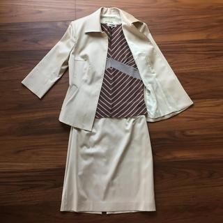 アトリエサブ(ATELIER SAB)のATELIER SAB スーツ ベージュ 3点セット 日本製(スーツ)