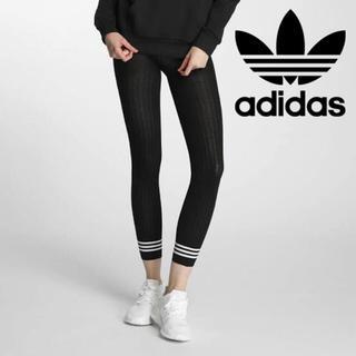 アディダス(adidas)のadidas originals 3ストライプタイツ sサイズ(タイツ/ストッキング)
