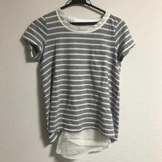 サカイラック(sacai luck)の未使用タグ付き sacai luck ストライプTシャツ(Tシャツ(半袖/袖なし))
