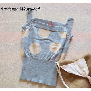 """ヴィヴィアンウエストウッド(Vivienne Westwood)の""""ヴィヴィアン"""" タンクトップ(タンクトップ)"""