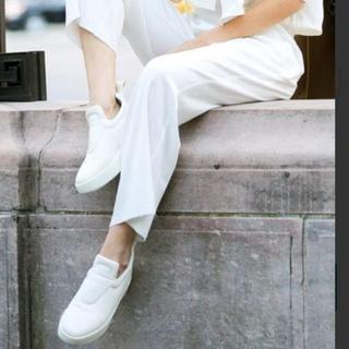 セリーヌ(celine)のセリーヌ  プルオンスニーカー確実正規品37 白 新品celineフィービー(スニーカー)