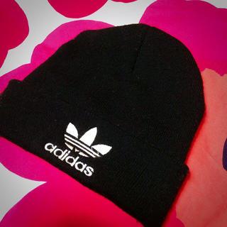 アディダス(adidas)のadidas☺︎ニット帽(ニット帽/ビーニー)