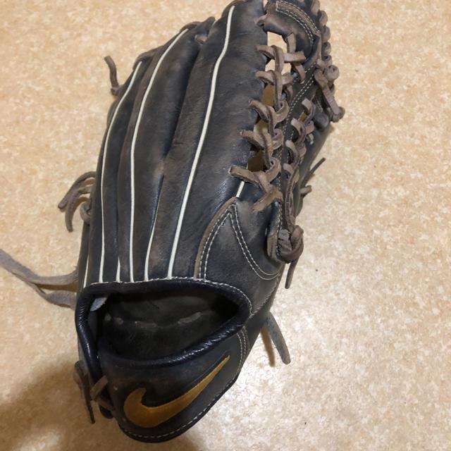 NIKE(ナイキ)のナイキ外野用グラブ 軟式 スポーツ/アウトドアの野球(グローブ)の商品写真