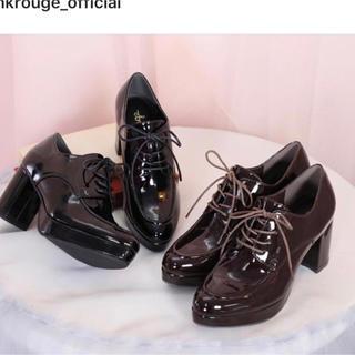 アンクルージュ(Ank Rouge)のAnk Rouge マニッシュオックスフォードシューズ(ローファー/革靴)